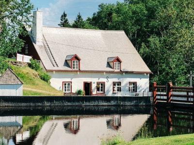 Moulin seigneurial des Éboulements dans Charlevoix
