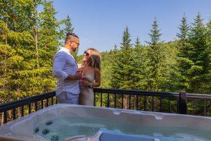 Escapade en amoureux dans Charlevoix avec un spa