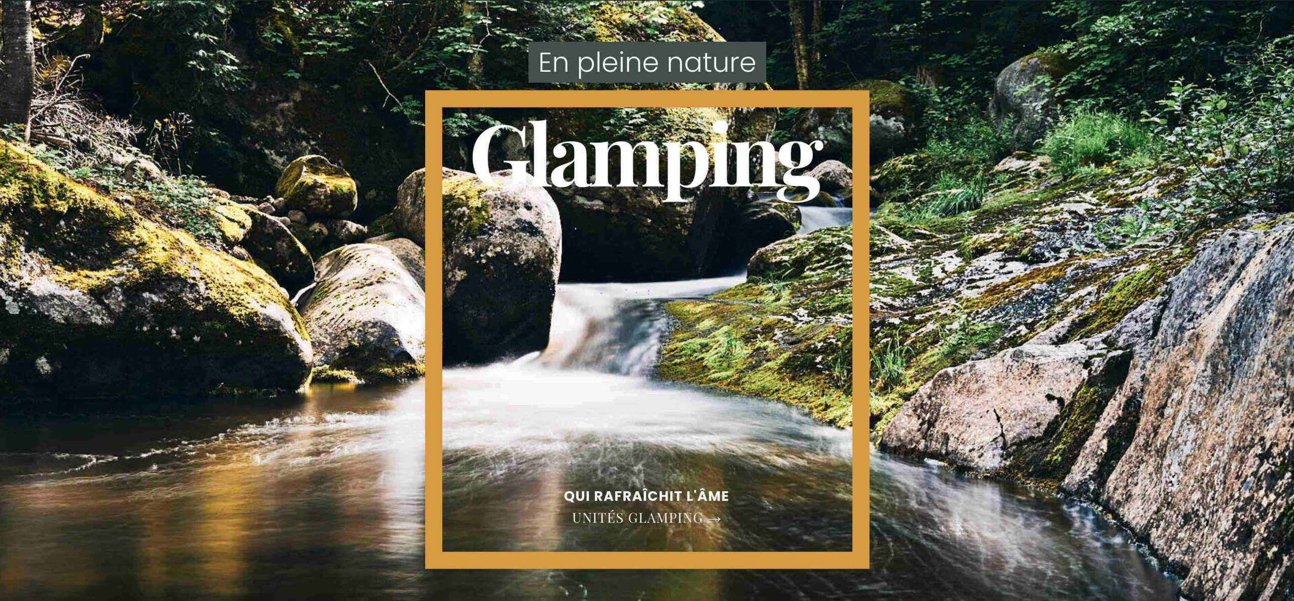 Momentom glamping accueil